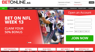 BetOnline Super Bowl Betting