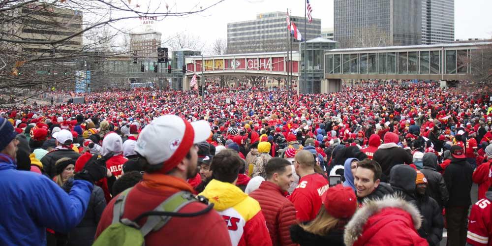 Kansas City Super Bowl Parade