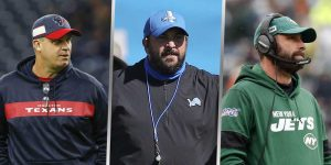 Bill O'Brien - Matt Patricia - Adam Gase