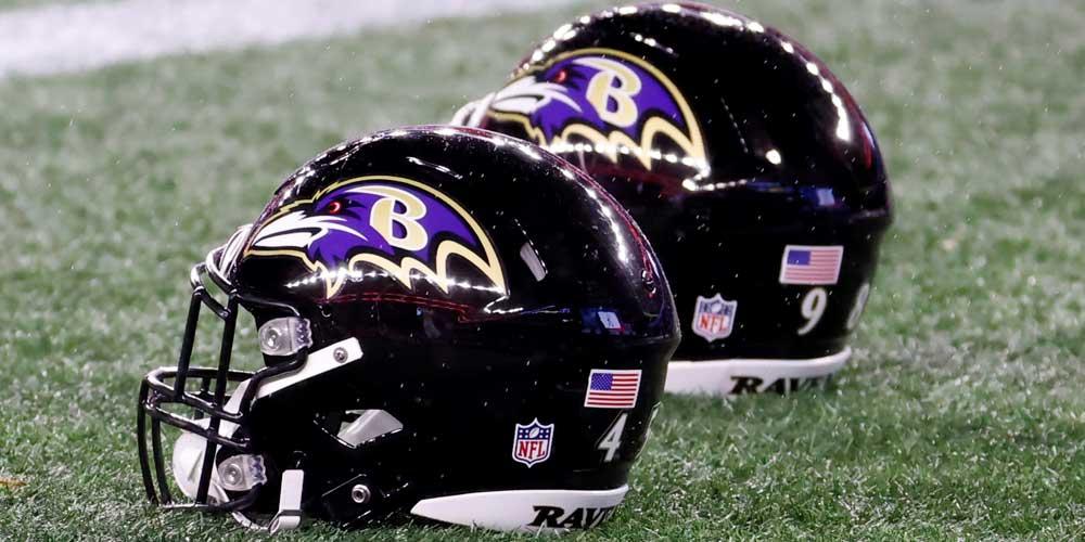 Baltimore Ravens Helmets