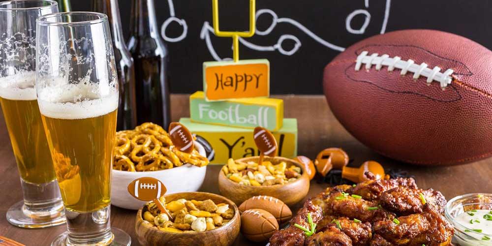 Super Bowl Party Spread