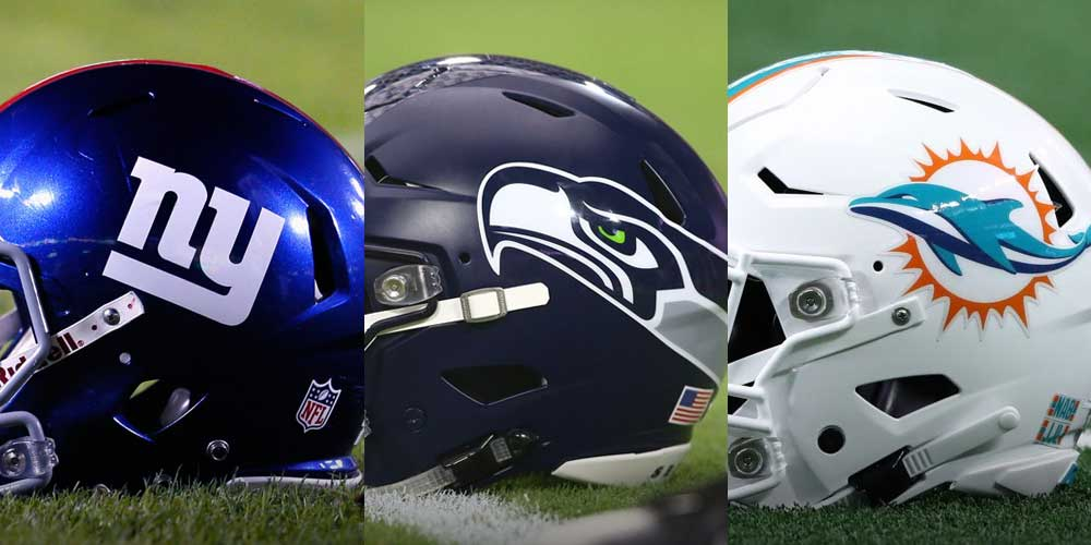 Giants - Seahawks - Dolphins
