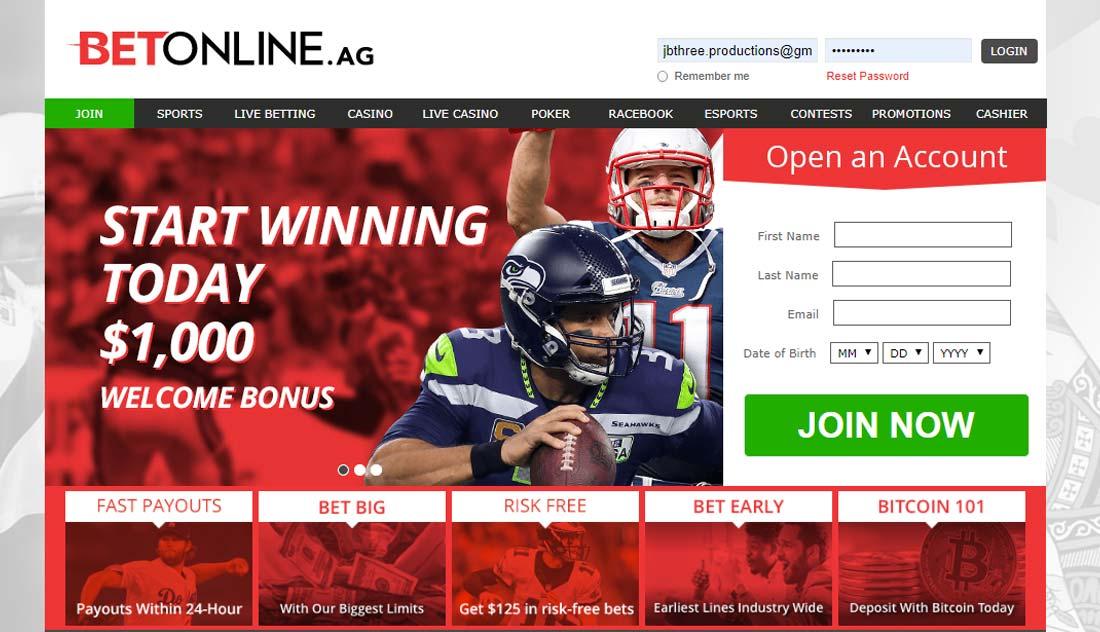 BetOnline Super Bowl Betting